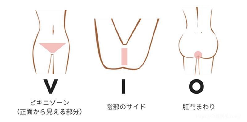 介護脱毛デリケートゾーンの説明